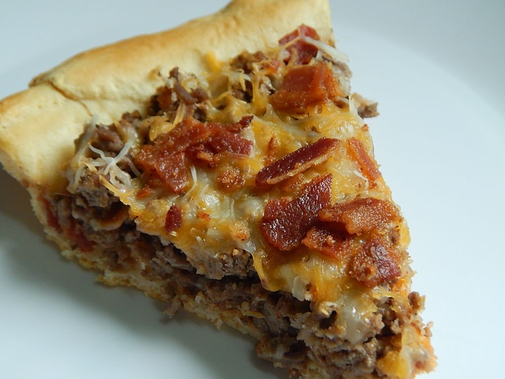 Bacon Cheeseburger Pie Drizzle Me Skinny Drizzle Me Skinny