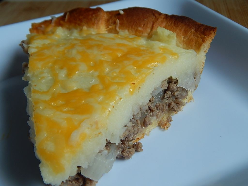 Meat and mashed potato pie - Drizzle Me Skinny!Drizzle Me Skinny!