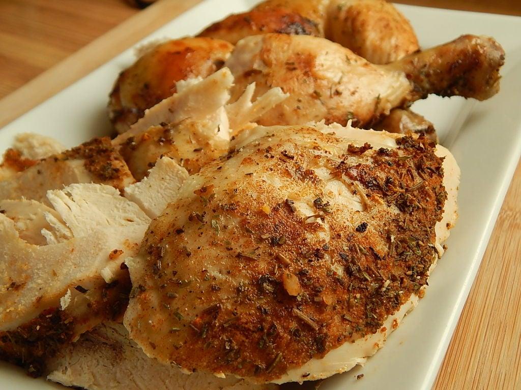 Crock Pot Rotisserie Chicken Drizzle Me Skinny