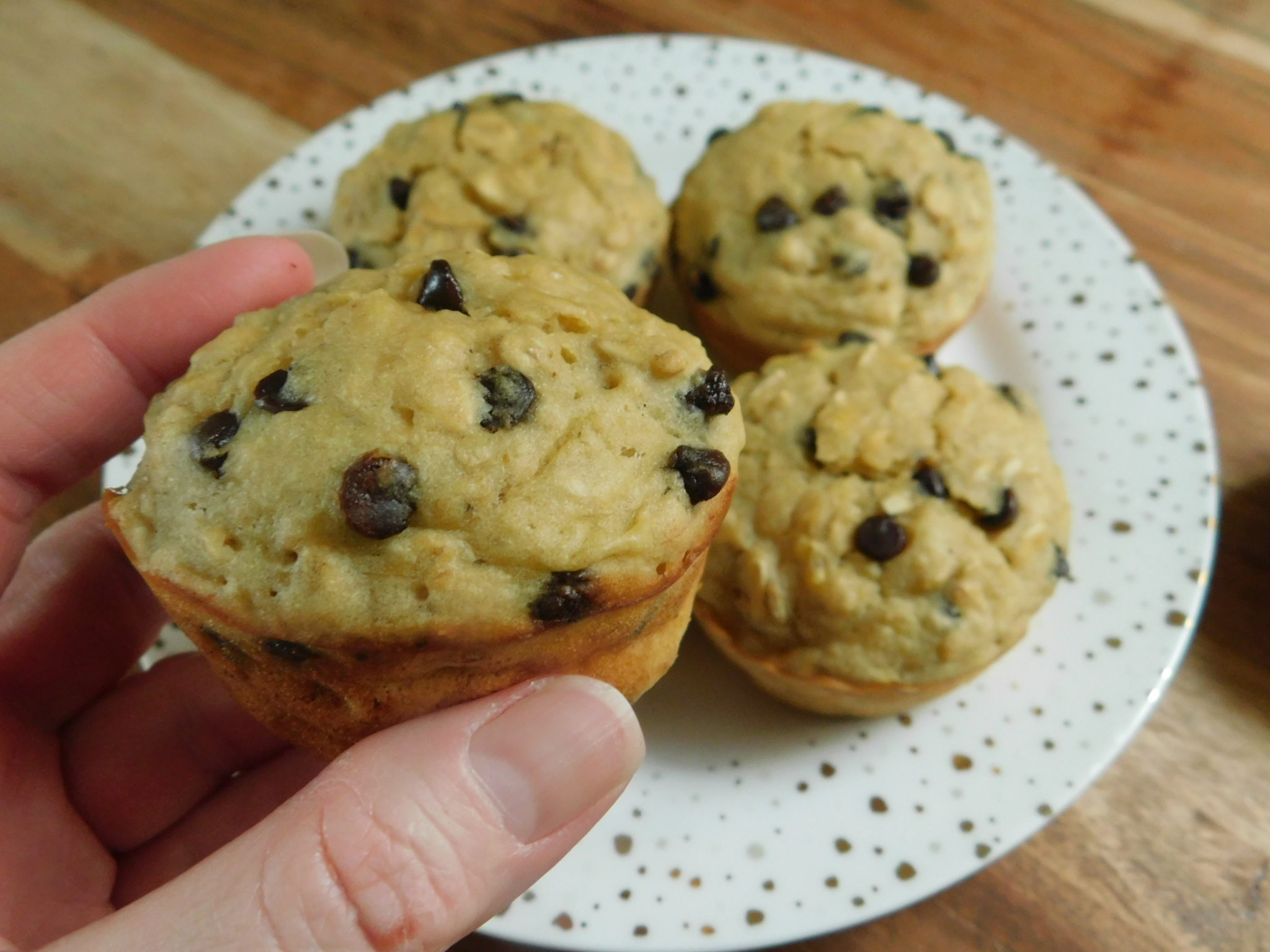 How to make banana chocolate chip muffins ingredients
